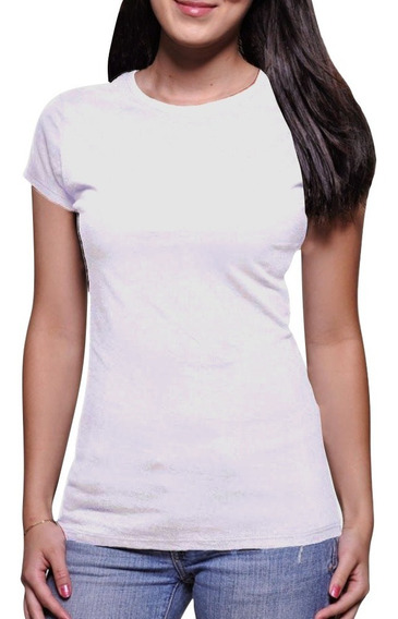 Camiseta Feminina Básica Atacado 100% Poliéster
