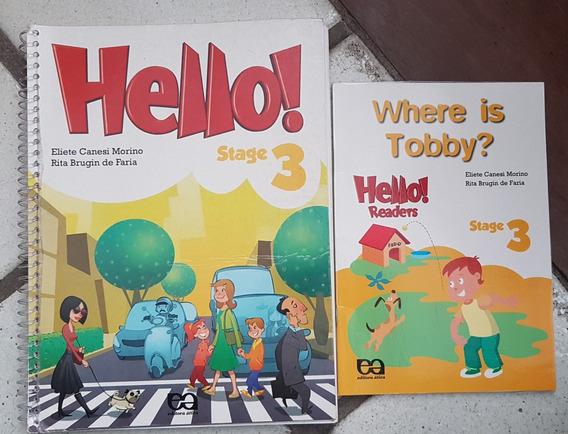 Lote 05 Livros: Hello! - Stage 3, 4, 5, 7 E 8