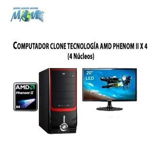 Computador 4 Nucleos/8gb/1.0tb/w10/obsequio - Sin Monitor