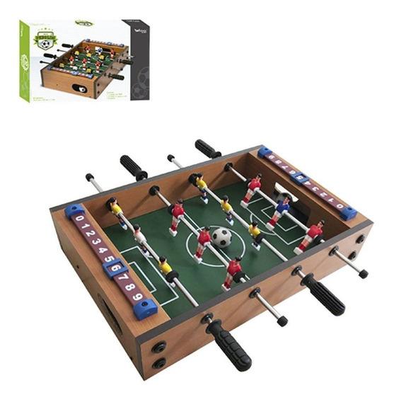 Jogo De Futebol Toto / Pebolim 34,5x23x7cm Na Caixa