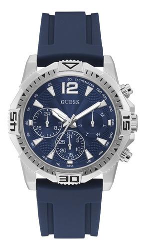 Reloj Para Hombre Guess Commander Color Azul Gw0211g1