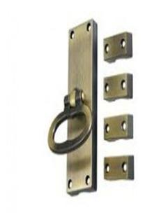 Fechadura Cremona Para Porta Balcão De Aço Oxidado Ursich