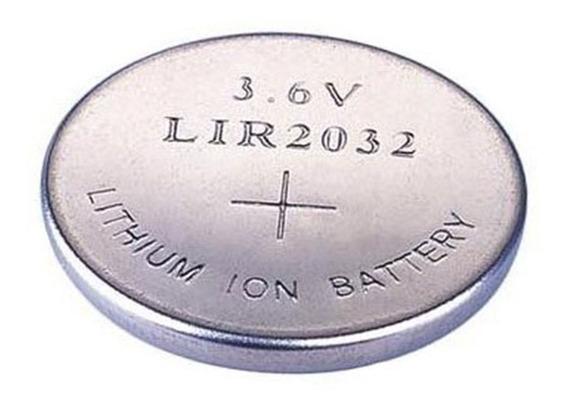 Bateria Lir2032 Cr2032 Recarregavel Li-ion 3,6v Oferta