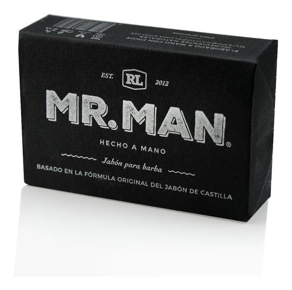 Jabones Artesanales Natural Mr.man 100g Para Afeitar Y Cuerp