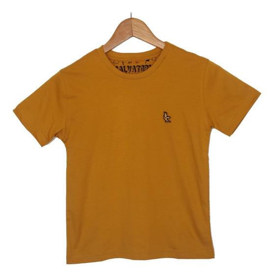 Camiseta Básica Infantil 100% Algodão