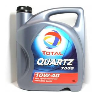 Aceite Total Quartz 7000 Semisintetico 10w40 Nafta/diesel