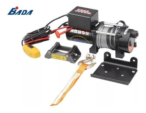 Malacate Electrico Dw 3000 Lbs 12v C/control Remoto(auto) Cc