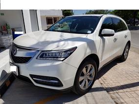 Acura Mdx 3.7 Awd Ta 2014 Blanca