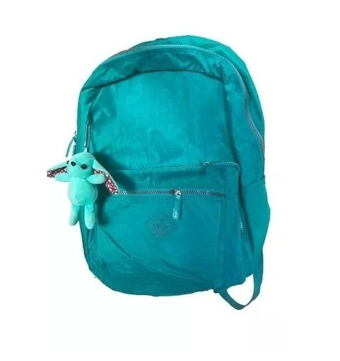 Mochila Verde Costas P/ Notebook Yng2be Original