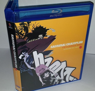 Samurai Champloo Serie Completa Bluray Box