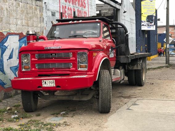 Camion Chevrolet C70 Sencillo Con Cupo