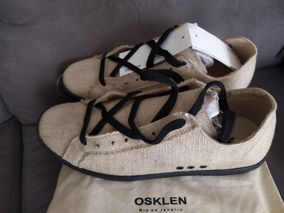 Tênis Osklen Flow Juta - Original - 40