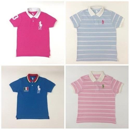 Kit 4 Camisas Polo Infantil #atacado #top #frete Grátis