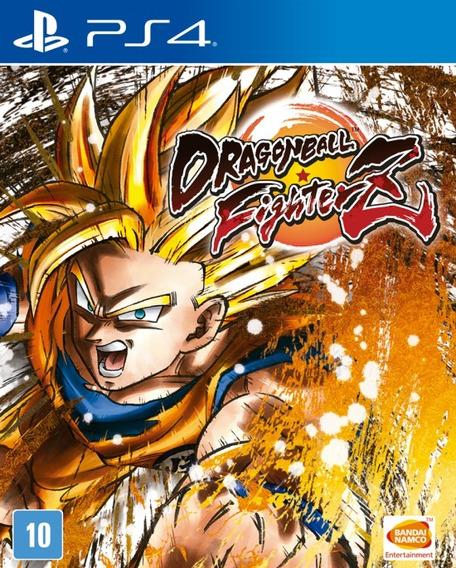 Jogo Ps4 Dragon Ball Fighter Z Mídia Física Lacrado