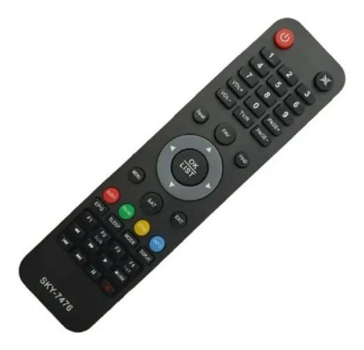 Controle Remoto Para Receptor S1001 S1005 S929 S1001 Plus
