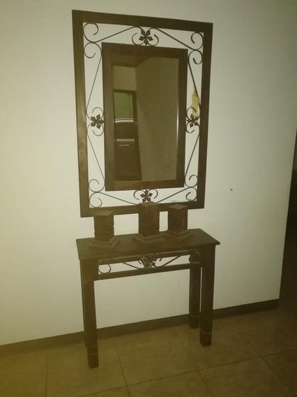 Espejo Y Recibidor