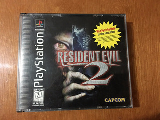 Resident Evil 2 Playstation 1 Original Completo Ps2 Ps3 Ps1