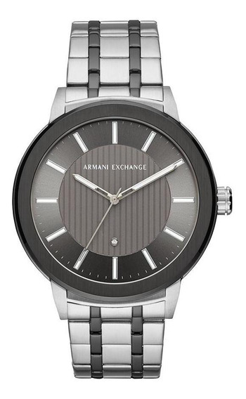 Relógio Masculino Armani Exchange Maddox Prata - Original