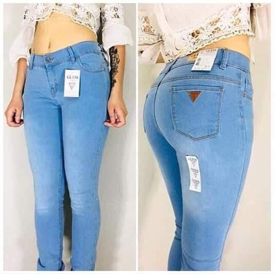 detalles para muchas opciones de zapatos de temperamento Pantalones y Jeans Guess para Mujer 9 en Mercado Libre México