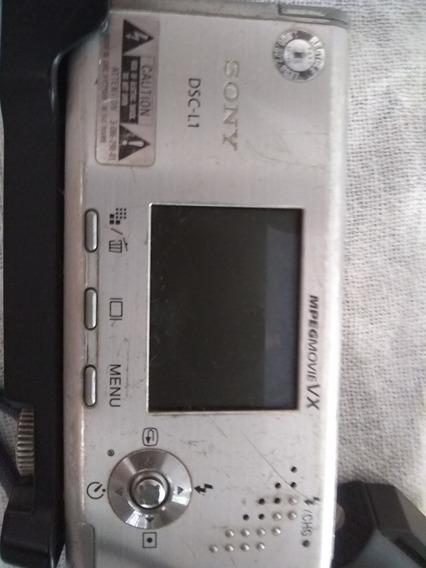 Duas Cameras Sony Cyber-shot Dsc-l1 4.1mp