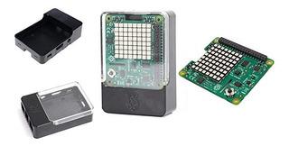 Raspberry Pi 3 Sense Hat Sensores Matriz Led Rgb + Case