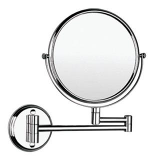 Espejo Extensible Baño Tocador Lujo Aumento X5 Omega Grifos