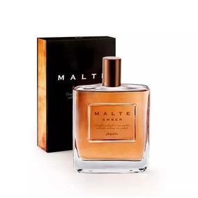 Colônia Desodorante Malte Amber 100 Ml
