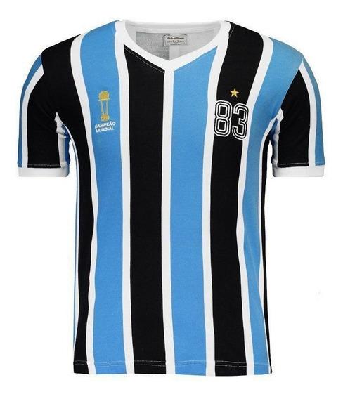 Camisa Retrômania Grêmio 1983 Bi Mundial