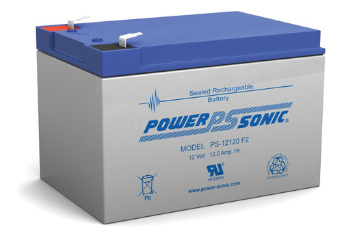 Bateria Sla Power Sonic 12v 12ah