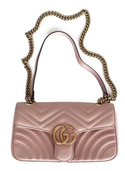 Gucci Marmont Rosa Bolsa