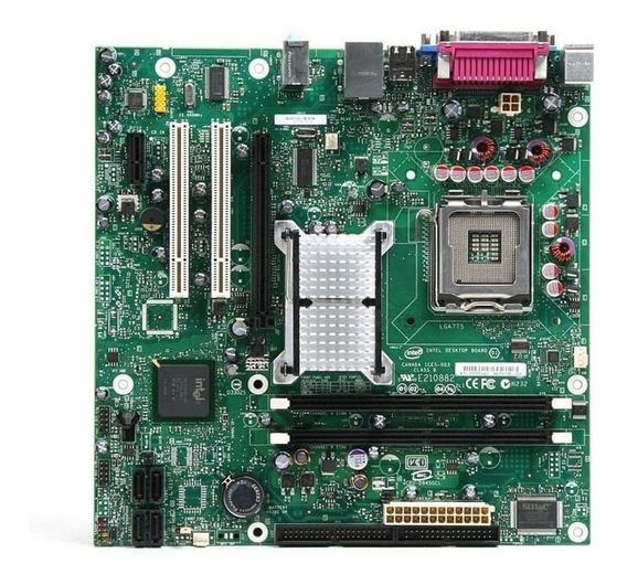Kit Placa Mãe Intel 945gcnl + Processador D 2.8ghz + 2gb