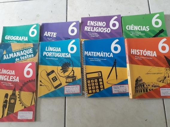 Livros Adventista 6 Ano Matemática, Port., Ing., Geo,coleção