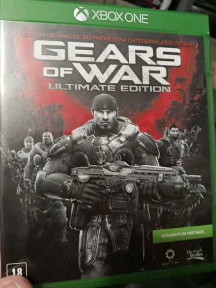 Jogo Gears Of War Ultimate Edition Midia Fisica Em Portugues
