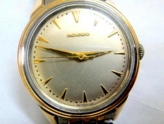 Relógio Movado Aço E Ouro