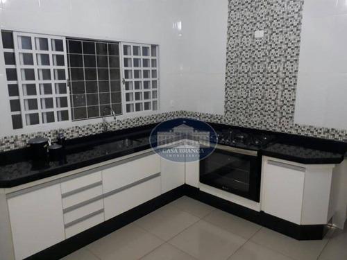 Imagem 1 de 11 de Casa Residencial À Venda, Concórdia Iii, Araçatuba. - Ca0742