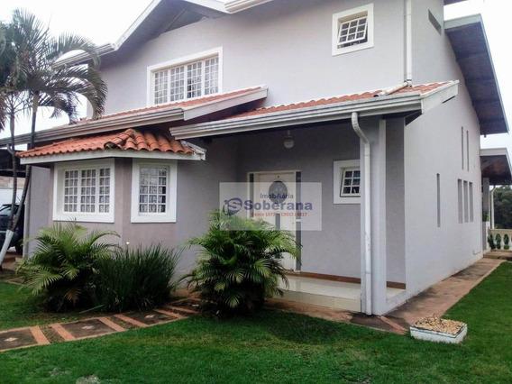 Casa Com 4 Dormitórios À Venda, 290 M² Por R$ 950.000,00 - Vale Verde - Valinhos/sp - Ca3571
