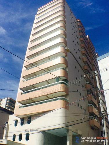 Apartamento Com 3 Dorms, Aviação, Praia Grande - R$ 450 Mil, Cod: 36 - V36