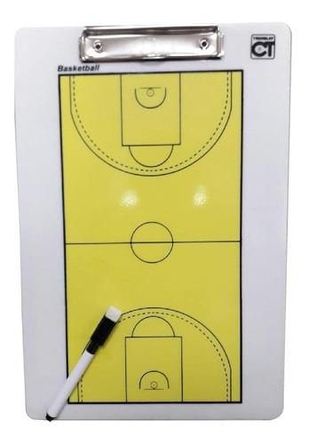 Imagen 1 de 3 de Pizarra Tacticas-planilla Basketball 34x23