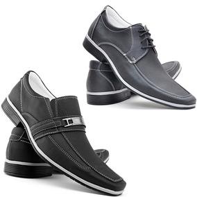 e1d517408 Sapato Social Kit 2 Pares Masculino Black Friday - Sapatos com o ...