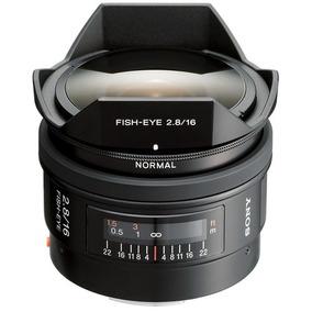 Lente Sony 16mm F/2.8 Fisheye A-mount