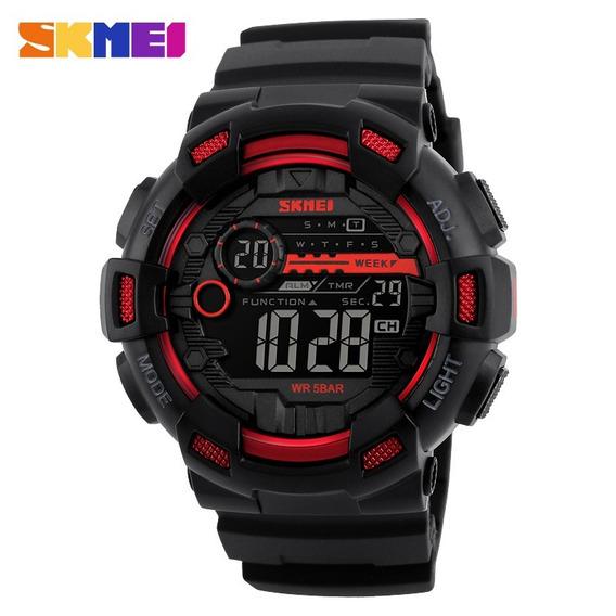 Relógio Masculino Skmei 1243 Esportivo Militar Dual Time