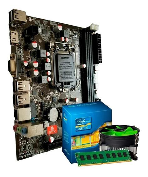 Kit Processador I5 -3470s + Placa Mãe H61 + 4gb Ddr3 + Nfe