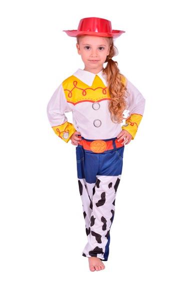 Disfraz Jessie Toy Story Vaquerita Original Talle 1 5/6 Años
