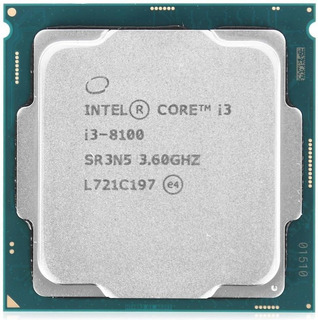 Procesador Intel Core i3-8100 4 núcleos 64 GB