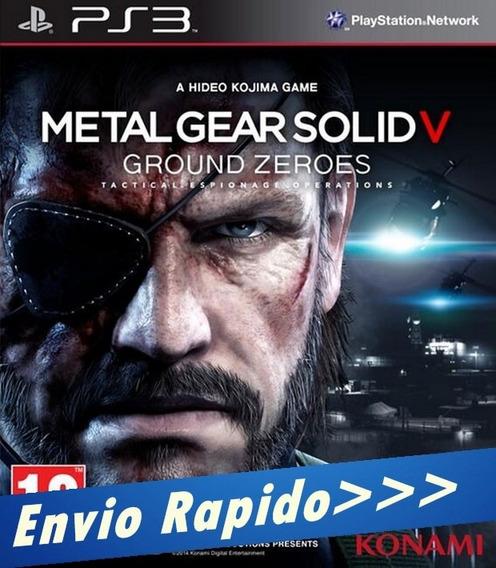 Metal Gear Solid V 5 Ground Zeroes Mídia Digital - Psn - Ps3