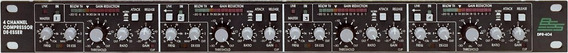 Bss 404 Dpr Compressor De Audio 4 Canais By Harman / Wx