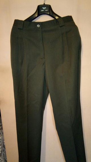Pantalón Para Dama , Color Verde Militar