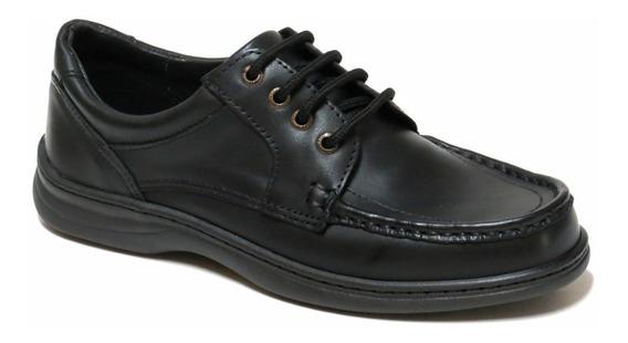 Zapatos Hombre Cuero Vestir Febo Free Comfort 45/50 6068