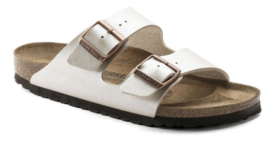 Zapato Birkenstock Arizona Graceful Pearl White