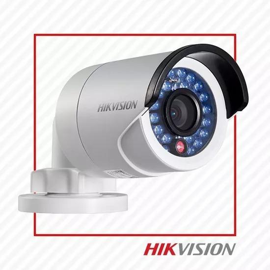 Câmera De Segurança Ip Bullet 1080p Ds2cd2020f-1 Hikvision